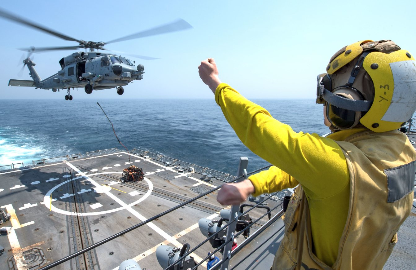 Indian Navy Flips Switch On Chopper Battle Royale