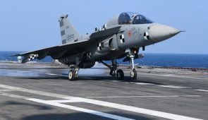 HISTORY: India's LCA Makes 1st Landing On Aircraft Carrier Deck