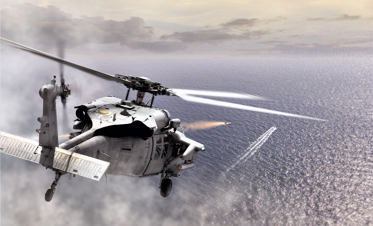 BAE Systems APKWS Guided Rockets Debut In Indian Service On Naval MH-60Rs