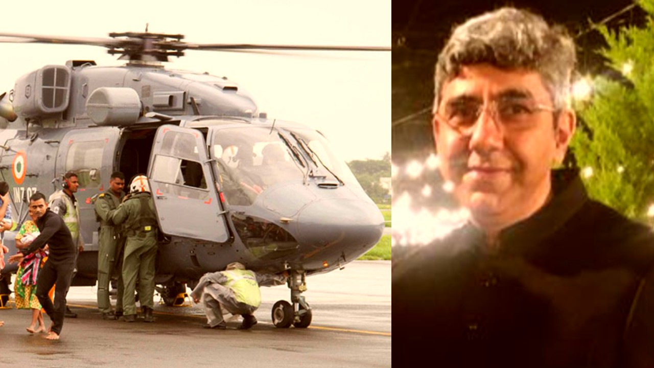 NAVY-DHRUV SPAT: Let's Stop Fighting, HAL Test Pilot Says