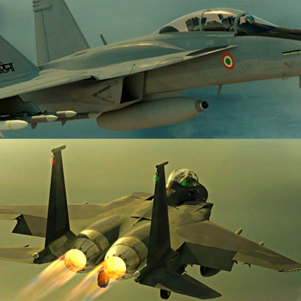 Boeing's India Plans Sharpen Around F-15 & Super Hornet