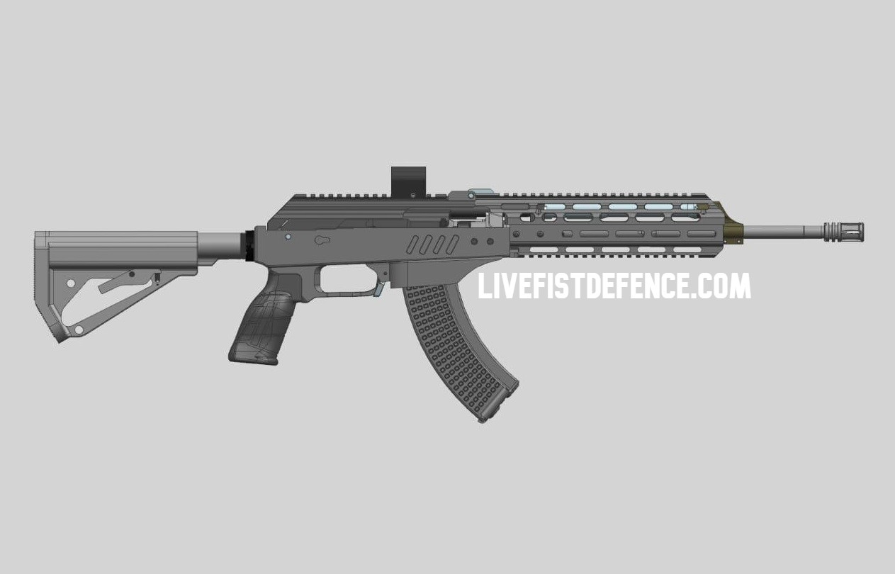 FIRST LOOK: Indian Private Sector Answer To Kalashnikov Rifle Out Soon