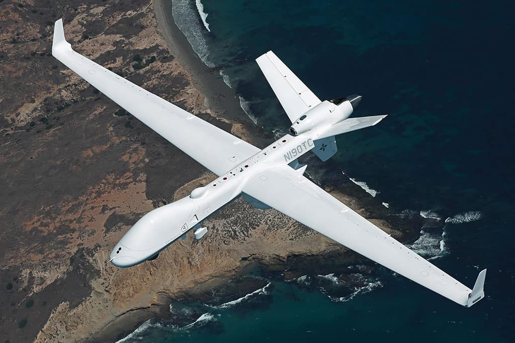 2 SeaGuardian Drones Arrive On Year-Long Lease With Indian Navy